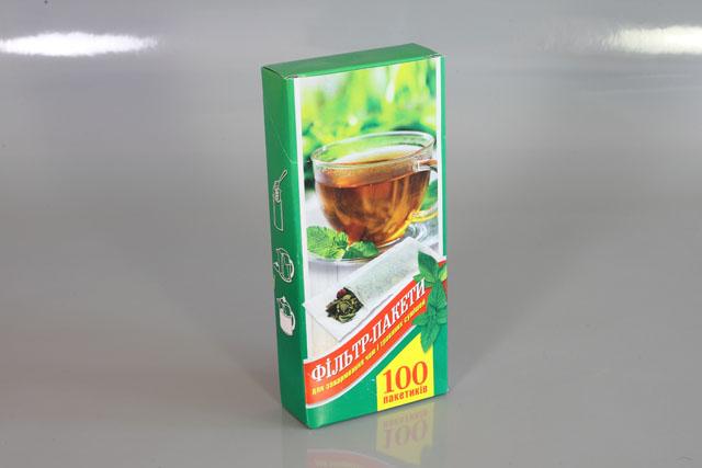 Фільтр-пакети на чай