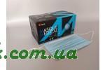 Маски одноразові в коробці (блакитні) (50 шт.)