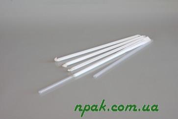 Трубочки для фрешу в індивідуальній паперовій упаковці (d=8mm, l=240mm) (250 шт.)
