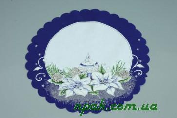 Серветка флізелінова новорічна (4 шт.)