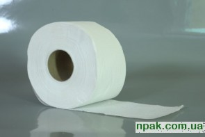 """Туалетний папір """"Джамбо"""" білий (1 шт.)"""