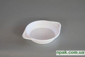 Тарілка біла глибока (100 шт.)