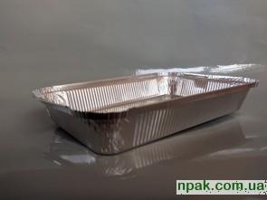 """Контейнер з алюмінієвої фольги ТМ """"СтудіоПак"""" SP98L (3100 мл) (50 шт.)"""