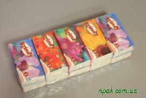 Носові хустинки 3- шарові з запахом (10 шт.) (Угорщина)