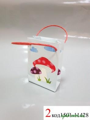 """Пакети подарункові паперові """"BRAUN"""" (11х6х5 см) (1 шт.)"""