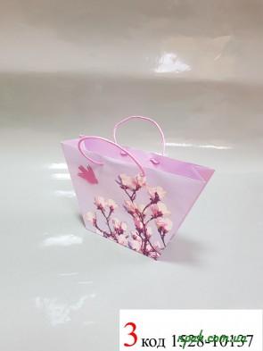 """Пакети подарункові паперові """"BRAUN"""" (28х17х6,5 см) (1 шт.)"""