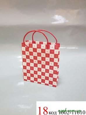 """Пакети подарункові паперові """"BRAUN"""" (18х21х8 см) (1 шт.)"""
