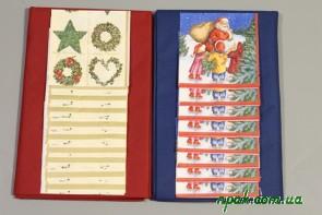 Набір святковий новорічний (скатертина - 1шт., серветки - 12 шт.) (1 комплект.)