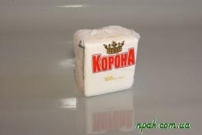 Серветка паперова біла (35 шт.)