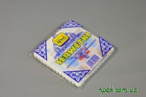Серветки паперові зубковані з малюнком (200 шт.)
