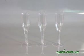 Стакан для шампанського склоподібний (6 шт.)