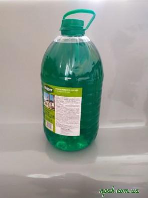 """Засіб ТМ """"HELPER"""" для миття посуду з ароматом яблука (5 кг.) (1 шт.)"""