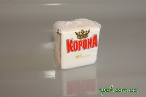 Серветка паперова біла (100 шт.)